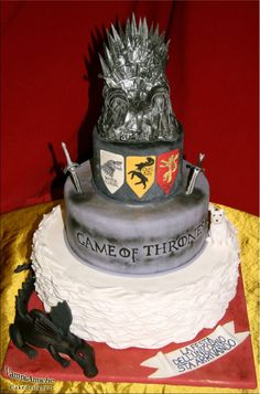 Grooms Cake Game Of Thrones By VampiAmiche Cakedesigners This Might Have To Happen