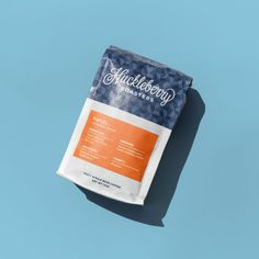 New packaging for Colorado coffee roaster Huckleberry by Mast. #coffee #packaging #design #branding