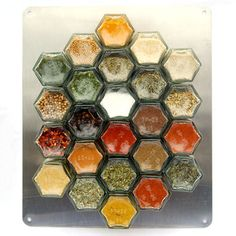 Everything Hex Wall Set, $125. Spice storage.