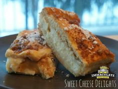 Crescent rolls filled w/cheesecake