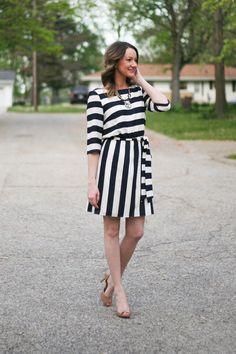 navy stripes - www.lovelucygirl.com