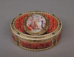 Snuffbox  F.S., Switzerland   Date: ca. 1780–90