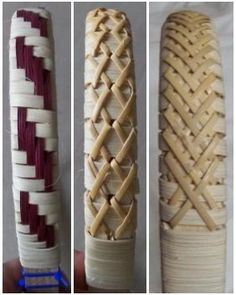 see pdf on documents Gina's Baskets -- Free Pattern Flax Weaving, Bamboo Weaving, Willow Weaving, Paper Weaving, Basket Weaving Patterns, Hawaiian Crafts, Nantucket Baskets, Pine Needle Baskets, Bamboo Crafts