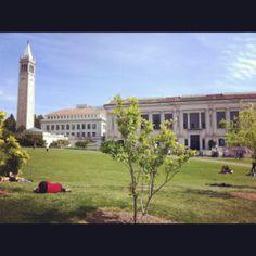 Cal aka UC Berkeley campus - Berkeley, California