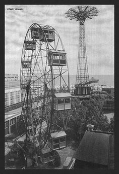 Located amidst throngs of people, this amusement park was needed to entertain and enthrall the citizens of New York.