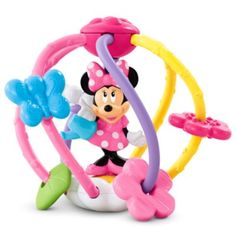 Disney Baby MINNIE MOUSE Clutch and Rattle Ball | BrandsDisneyMinnie | Fisher Price