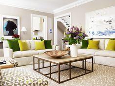 living room // Anne Hepfer Designs