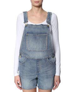 VILA 'Harm' playsuit/overalls light blue