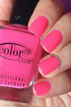 Smalto Color Club Poptastic nail polish http://www.lightyournails.com/2017/06/color-club-poptastic.html