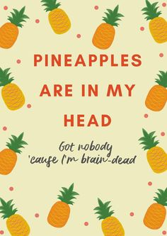 #glassanimals #porksoda #pineapples done with some help from canva