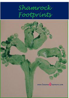 Shamrock Footprints