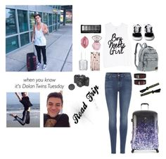 """Touring with Grayson 😉"" by irish4cats ❤ liked on Polyvore featuring art"
