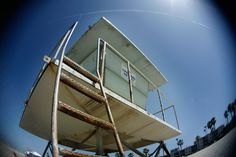 Lifeguard Tower Oceanside California