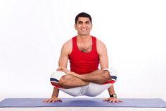 Tolasana from www.facebook.com/yogadeep » Yoga Pose Weekly