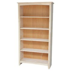 <strong>International Concepts</strong> Shaker Standard Bookcase