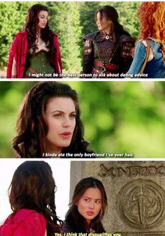 Ruby, Mulan and Merida. Once Upon A Time Season 5 Episode 9