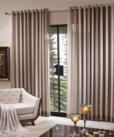 cortina para quarto Curtain Ideas, Curtains With Blinds, Window Treatments, Living Area, Room Decor, Windows, Decoration, Tattoos, Pinterest Home Decor Ideas