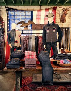 News and updates for Bridge & Burn online and for our men's and women's clothing store in downtown Portland, OR. Burning Bridges, Room Store, Retail Merchandising, Modern Hippie, Store Windows, Men's Vintage, Retail Space, Birthday Wishlist, Store Displays
