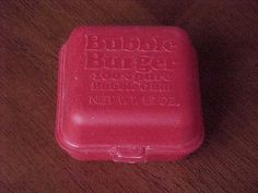 Bubble burger bubble gum (Grandpa always stuck one of these in a treat bag when he would visit!)