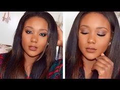Glam Fall/Autumn Makeup Tutorial | Brown Lips  + Fall Smokey Eye Tutoria...