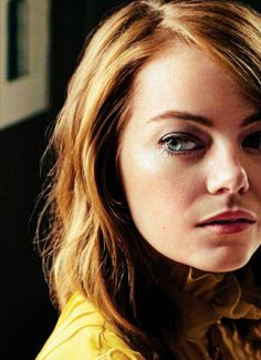 Emma Stone Source — wonderwcman: My favorite thing about movies is...