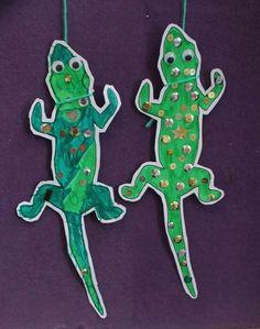 Dangly newts: inspired by Roald Dahl's book, Matilda. Template in Roald Dahl's…