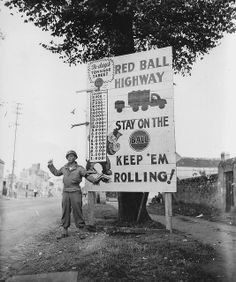 Red Ball Express, Corp. Charles H. Johnson, September 1944, Normandy. The supply line kept allied troops supplied an amazing logistical feat!