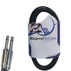 "Rapco 10' Instrument Cable | 1/4"" Connectors"