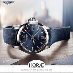 c31939485 #Longines Conquest V.H.P. Sporty touch of blue #horaegioielleriaorologeria  #love #instagood #Longines