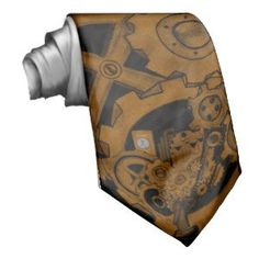 "Steampunk Machinery (Copper) Neckwear (<em data-recalc-dims=""1"">$35.95</em>)"