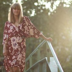 Rockpaperdresses wearing the new Ganni kimono from the 2014 A/W collection