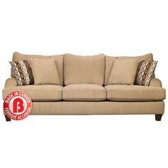 #1 Thumbnail Image for Putty Chenille Sofa - Beige from SHOP.CA