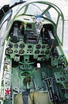 Mitsubishi Zero Cockpit: