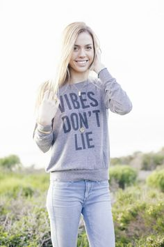 △ ▼ ▽ Vibes Don't Lie! They don't... Do they? // Read about the origin story of our latest tee on TBB... and enter the GIVEAWAY! △ ▼ ▽