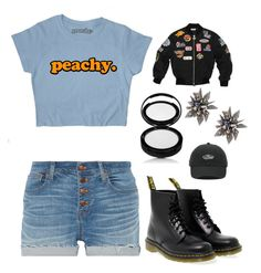 """bp"" by gilazyrl on Polyvore featuring мода, Dr. Martens, Vans, Madewell и Alexis Bittar"