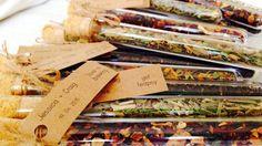 Matrimonio personalizzato favore Bonbonniere - provetta con sciolto foglia di tè