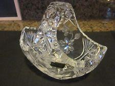 Lead Crystal Basket - $9.99
