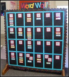 Mrs. Byrd's Learning Tree: Word Wall
