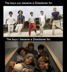 The Boys On The Stairs are the ones I fell in love with.