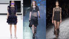 S/S 2016 women's trends: résilles
