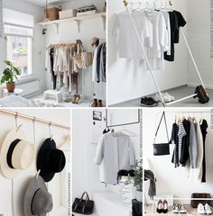 hanging Wardrobe Rack, Living Spaces, Clothes, Furniture, Home Decor, Outfits, Clothing, Decoration Home, Room Decor