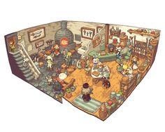 【PFⅤ】トトの村の鍛冶屋さん | うるち #pixiv http://www.pixiv.net/member_illust.php?illust_id=16964762&mode=medium