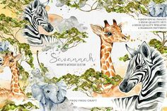 Savannah by Frou Fou Craft on @creativemarket