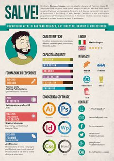 21 infographic resume ideas for examples If you like this cv template. Check others on my CV template board :) Thanks for sharing! Visual Resume, My Resume, Portfolio Resume, Portfolio Design, Portfolio Web, Cv Digital, Cv Web, Cv Curriculum Vitae, Cv Inspiration