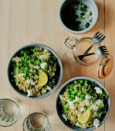 Healthy Munchies, Fish And Chips, Tex Mex, Tahini, Rice Recipes, Fried Chicken, Fried Rice, Cobb Salad, Risotto