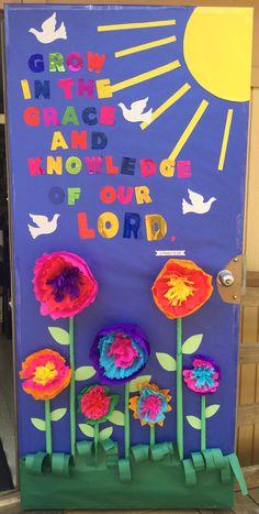 Religious Classroom Door Decorations Outside my classroom ... - photo#6