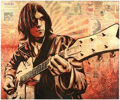 Shepard Fairey 'Neil Young' 2010