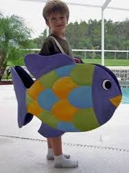 how to make a huge fish costume from a sheet - Google Search