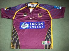 2001 Brisbane Broncos Adults Large Rugby League Shirt Australia Top Jersey  Rugby Shirts b7ae609aa