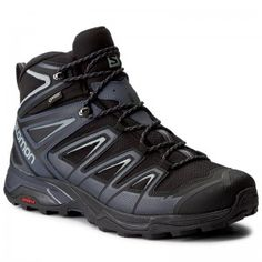 Salomon X Ultra 3 Mid Gtx Gore-tex 398674 33 Black/India Ink/Monument SalomonSalomon Source by ladenzeile dresses with boots Sorel Winter Boots, Mid Heel Shoes, Ankle Strap High Heels, Open Toe Sandals, Black Sandals, Men Hiking, Hiking Boots, Timberland